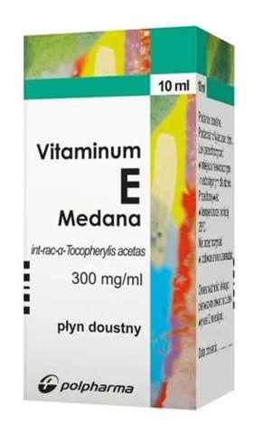 WITAMINA E 300mg/ml krople 10ml