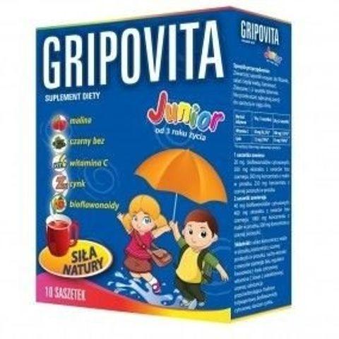 ZDROVIT Gripovita Junior x 10 saszetek